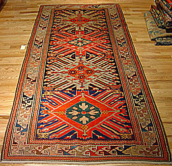 Anatolia Tribal Rugs and Weavings: Eagle Kazak